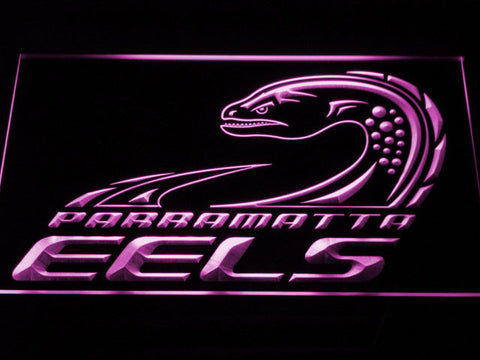 Image of Parramatta Eels LED Neon Sign - Legacy Edition - Purple - SafeSpecial