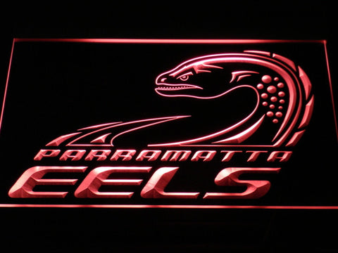 Image of Parramatta Eels LED Neon Sign - Legacy Edition - Red - SafeSpecial