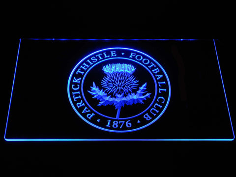 Image of Partick Thistle F.C. LED Neon Sign - Blue - SafeSpecial