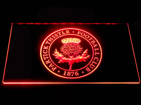 Image of Partick Thistle F.C. LED Neon Sign - Red - SafeSpecial