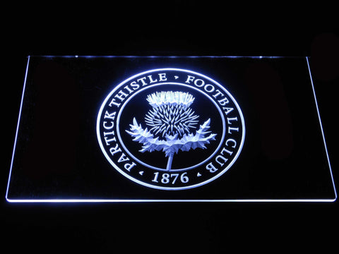 Image of Partick Thistle F.C. LED Neon Sign - White - SafeSpecial