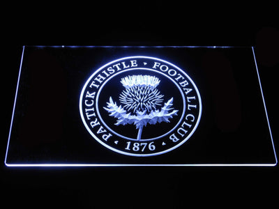 Partick Thistle F.C. LED Neon Sign - White - SafeSpecial