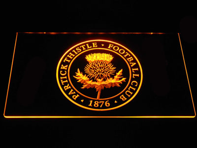 Partick Thistle F.C. LED Neon Sign - Yellow - SafeSpecial
