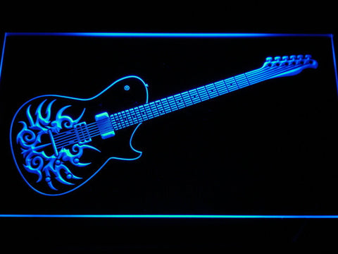 Image of Paul Reed Smith Tremonti LED Neon Sign - Blue - SafeSpecial