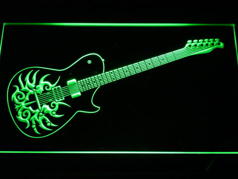 Image of Paul Reed Smith Tremonti LED Neon Sign - Green - SafeSpecial