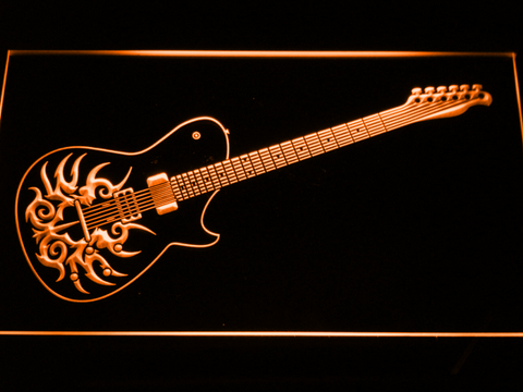 Image of Paul Reed Smith Tremonti LED Neon Sign - Orange - SafeSpecial