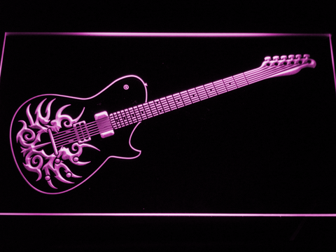 Image of Paul Reed Smith Tremonti LED Neon Sign - Purple - SafeSpecial