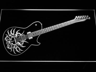 Paul Reed Smith Tremonti LED Neon Sign - White - SafeSpecial