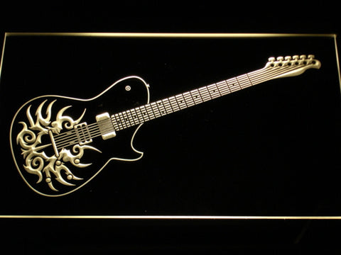 Image of Paul Reed Smith Tremonti LED Neon Sign - Yellow - SafeSpecial