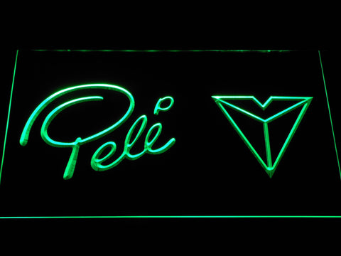 Pel?? Sports LED Neon Sign - Green - SafeSpecial