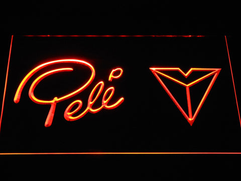 Pel?? Sports LED Neon Sign - Orange - SafeSpecial