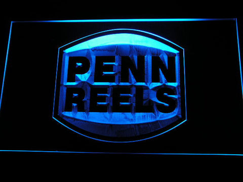 Image of Penn Reels LED Neon Sign - Blue - SafeSpecial