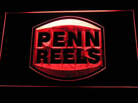 Penn Reels LED Neon Sign - Red - SafeSpecial