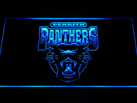 Image of Penrith Panthers LED Neon Sign - Legacy Edition - Blue - SafeSpecial