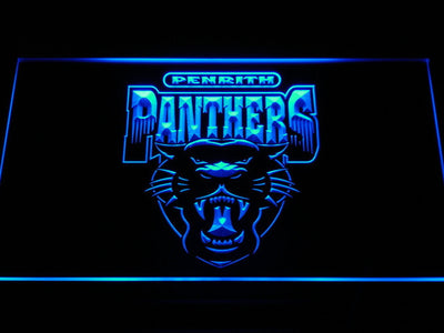 Penrith Panthers LED Neon Sign - Legacy Edition - Blue - SafeSpecial