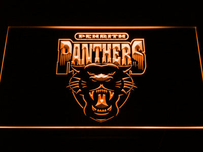 Penrith Panthers LED Neon Sign - Legacy Edition - Orange - SafeSpecial