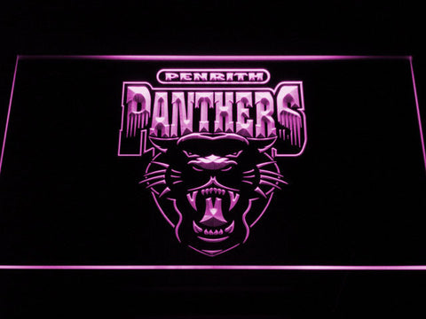 Image of Penrith Panthers LED Neon Sign - Legacy Edition - Purple - SafeSpecial