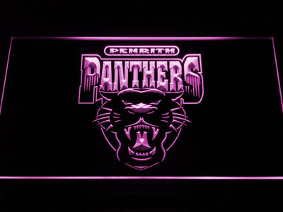 Penrith Panthers LED Neon Sign - Legacy Edition - Purple - SafeSpecial