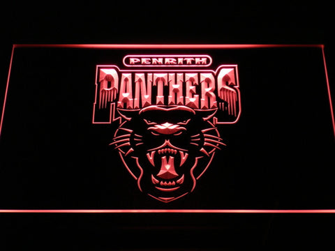 Image of Penrith Panthers LED Neon Sign - Legacy Edition - Red - SafeSpecial