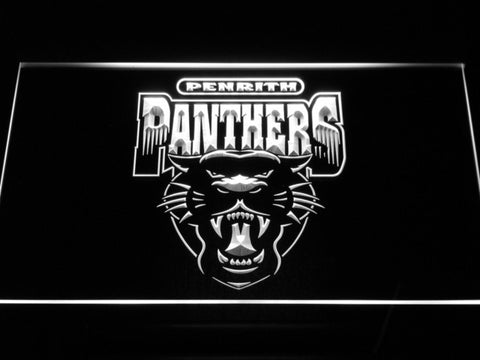 Image of Penrith Panthers LED Neon Sign - Legacy Edition - White - SafeSpecial