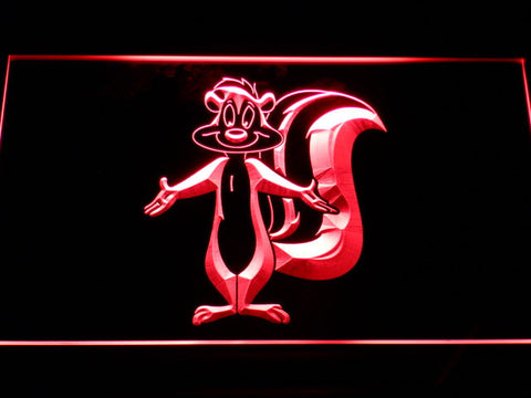 Image of Pepe Le Pew LED Neon Sign - Red - SafeSpecial