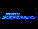Perth Scorchers LED Neon Sign - Blue - SafeSpecial