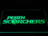 Perth Scorchers LED Neon Sign - Green - SafeSpecial