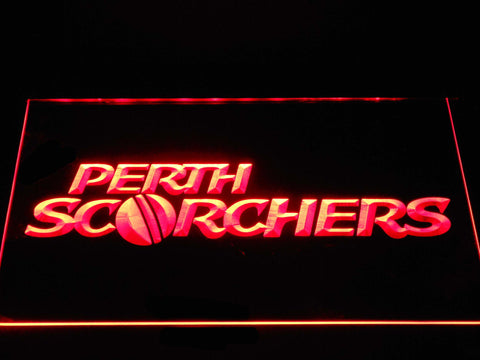 Perth Scorchers LED Neon Sign - Red - SafeSpecial