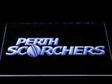 Perth Scorchers LED Neon Sign - White - SafeSpecial