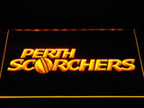 Perth Scorchers LED Neon Sign - Yellow - SafeSpecial