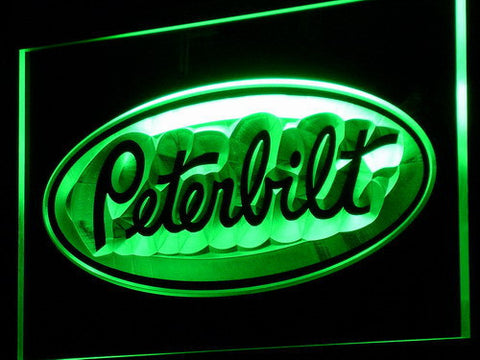 Image of Peterbilt LED Neon Sign - Green - SafeSpecial