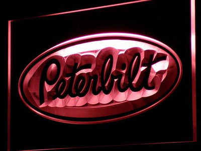 Peterbilt LED Neon Sign - Red - SafeSpecial
