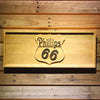 Phillips 66 Gasoline Wooden Sign - Small - SafeSpecial