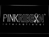 Pink Ribbon International LED Neon Sign - White - SafeSpecial