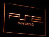 PlayStation PS2 LED Neon Sign - Orange - SafeSpecial
