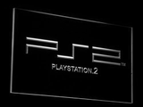 PlayStation PS2 LED Neon Sign - White - SafeSpecial