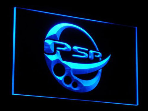 Image of PlayStation PSP LED Neon Sign - Blue - SafeSpecial