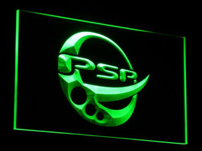 PlayStation PSP LED Neon Sign - Green - SafeSpecial