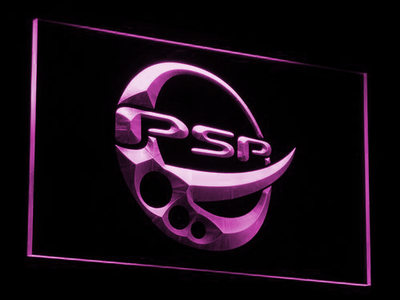 PlayStation PSP LED Neon Sign - Purple - SafeSpecial