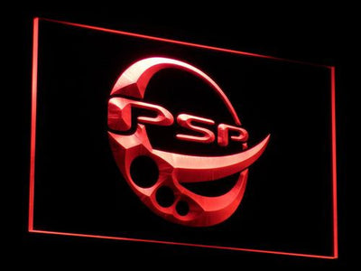 PlayStation PSP LED Neon Sign - Red - SafeSpecial