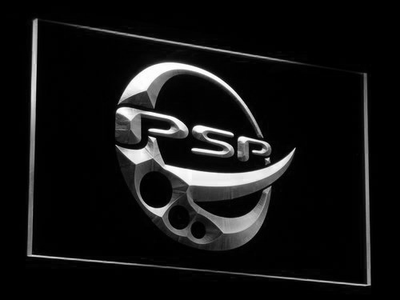 PlayStation PSP LED Neon Sign - White - SafeSpecial