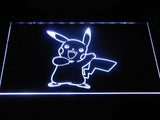 Pokemon Pikachu LED Neon Sign - White - SafeSpecial