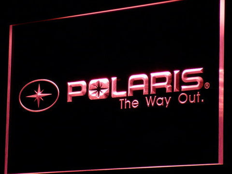 Image of Polaris All Terrain LED Neon Sign - Red - SafeSpecial