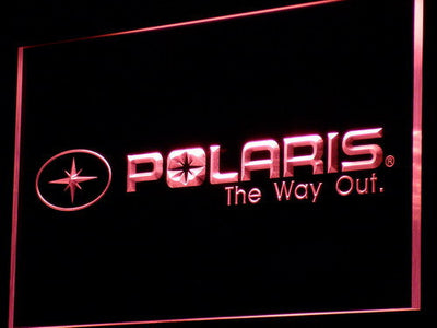 Polaris All Terrain LED Neon Sign - Red - SafeSpecial