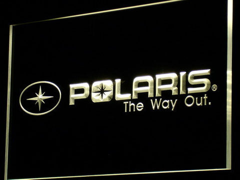 Image of Polaris All Terrain LED Neon Sign - Yellow - SafeSpecial