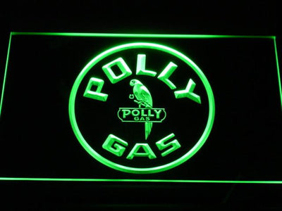 Polly Gas LED Neon Sign - Green - SafeSpecial