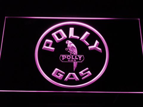 Image of Polly Gas LED Neon Sign - Purple - SafeSpecial