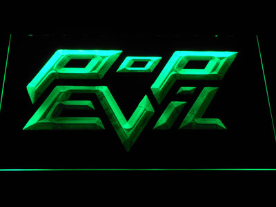 Pop Evil LED Neon Sign - Green - SafeSpecial