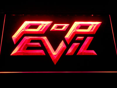 Pop Evil LED Neon Sign - Red - SafeSpecial