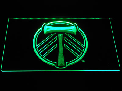 Portland Timbers LED Neon Sign - Green - SafeSpecial